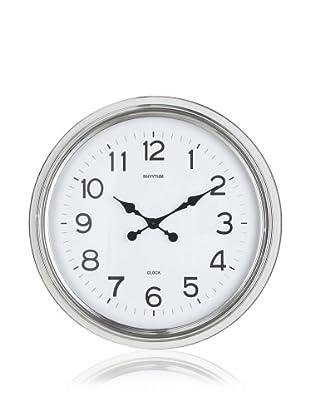 Cooper Classics Wyeth Clock, Shiny Nickel