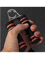Sports Fitness Sponge Hand Strength Grip Wrist Developer(Orange)