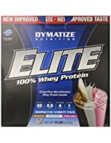 Dymatize Nutrition Elite 10 lbs Neopolitan Variety Pack
