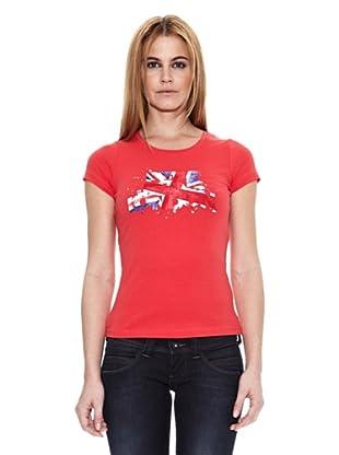 Pepe Jeans London Camiseta Shine (Rojo)