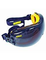 DEWALT DPG82 ConcealerTM Safety Goggle - One Dozen - Smoke Lens - Anti-Fog