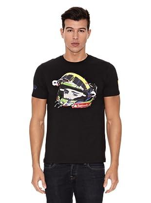 Ferrari Camiseta Massa (Negro)