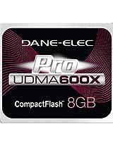 DANE ELECTRONICS Pro High Speed CF 8GB Memory Card (DA-CF6008G