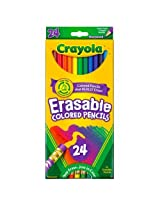 Crayola 24-ct. Erasable Colored Pencils