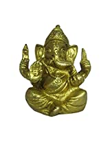 Handcrafted Brass Ganesha