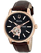 Bulova Automatic Analog Black Dial Men's Watch - 97A109