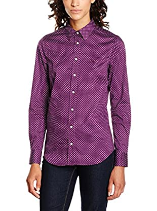 GANT Camicia Donna Broadcloth Stretch Dot Shirt