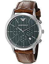 Emporio Armani Analog Green Dial Men's Watch - AR2493