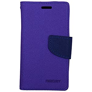 Mercury 3K286 Wallet Flip Case cover for Samsung Galaxy Core 2 ( Free Screen Guard)