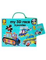 ALEX Toys Little Hands My 3D Race Puzzles