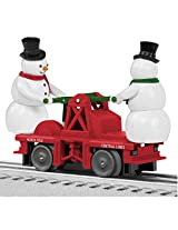 Lionel Escaping Snowmen Handcar