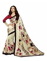 Bhavi Printed Banarasi Silk Sari