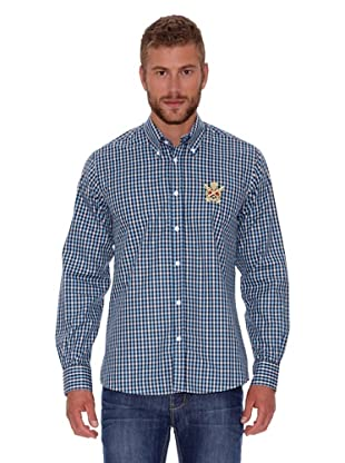 Polo Club Camisa Fitted (Marrón)