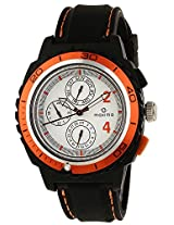 Maxima Chrono Analog White Dial Men's Watch - 30765PPGN