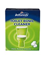 Astonish Toilet Bowl Cleaner 10 Tablets - Cleans & Removes Limescale (A-2184)