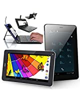 """inDigi NEW! 7"""" Android 4.2 JB Tablet PC w/ Wireless Phone Function + Free Keyboard Case"""