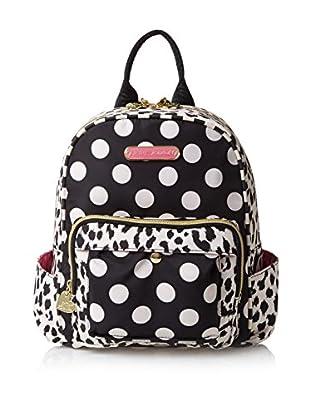 Betsey Johnson Women's TFIG Medium Backpack, White