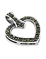 Artpalace CZ Collection Silver Pendant For Women