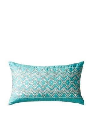 Echo Mykonos Oblong Pillow, Turquoise