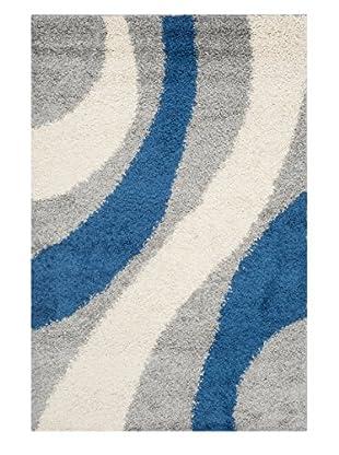 Safavieh Shag Rug (Grey/Blue)