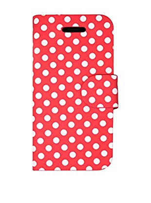 Imperii Funda Polka iPhone 5 / 5S Rojo