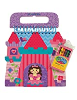 Stephen Joseph toys Princess Shaped Sketch Pad