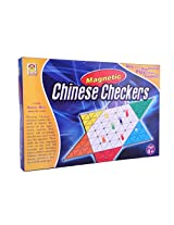Techno Magnetic Chinese Checkers - Board Game (Blue)