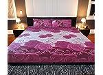 3pcs king sized bedsheets set, imported fabric