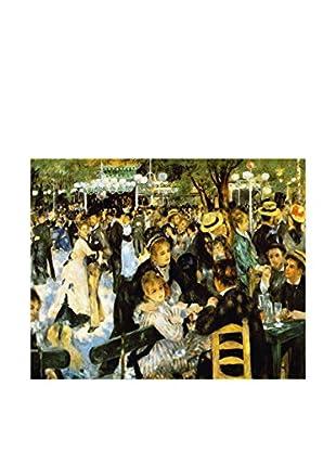 Legendarte Leinwandbild Danze Al Moulin De La Galette di Pierre Auguste Renoir