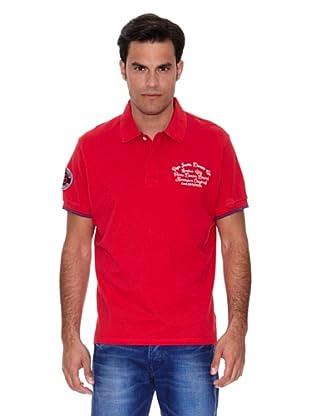 Pepe Jeans London Polo Pasquale (Rojo)