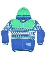 FROLIC Boys' Daffodil Sweater (J 504 Royal blue_18)