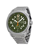 Esq By Movado Excel Chronograph Green Dial Stainless Steel Men'S Watch - Esq-07301416