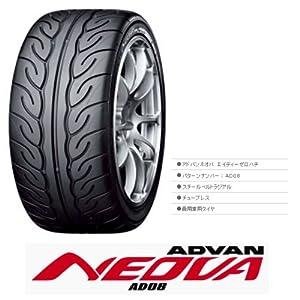 【クリックで詳細表示】YOKOHAMA(ヨコハマ) ADVAN NEOVA AD08 215/45R16 86W: 車&バイク
