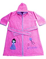 PREMIUM range - Fairy Tale Bathrobe - Pink Small