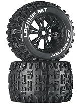 Duratrax Lockup MT 3.8 Mounted Tyre (Set of 2), Black