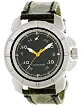 Fastrack Commando Analog Black Dial Men's Watch - 3088SL02