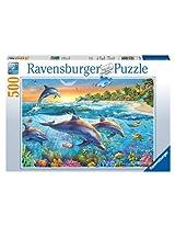 Dolphin Cove 500 Piece Puzzle