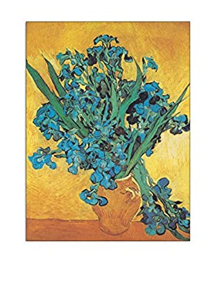 ArtopWeb Panel de Madera Van Gogh Gli Iris 60x80 cm