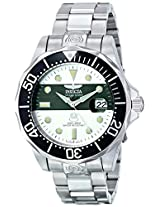 Invicta Men's 16130 Pro Diver Analog Display Japanese Automatic Silver Watch