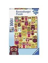Ravensburger Puzzles Owls, Multi Color (100 Pieces)