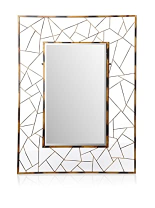 Firefly Home Collection Metal Rectangular Mirror