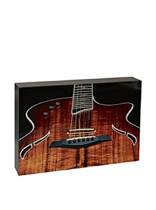 Art Block Guitar - Fine Art Photography On Lacquered Wood Blocks