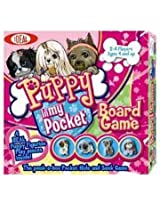 Ideal Puppy In My Pocket Peek-a-Boo Board Game