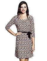 Allen Solly Geo Printed Knit Dress