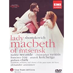 Shostakovitch: Lady Macbeth of Mtsensk [DVD] [Import]