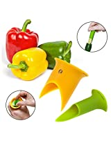 2pk Progressive Prep Solutions Pepper Corers Twist to Core & Seed Bell & Chili