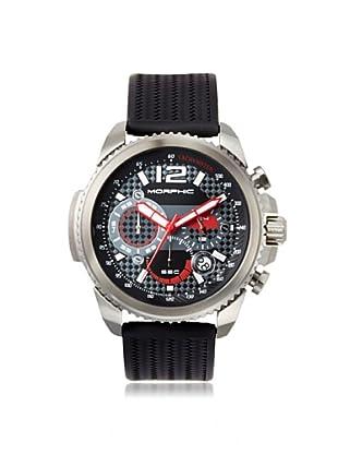 Morphic Men's 2802 M28 Series Black Silicone Watch
