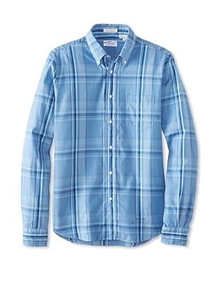 GANT Rugger Men's Dreamy Oxford Button-Up Shirt (Pigeon Blue)