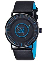 MTV Analog Black Dial Men's Watch - B7017BL