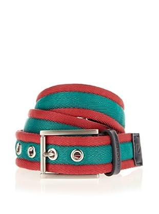 Redgreen Cinturón Gürtel Odell (Rojo / Verde)